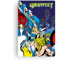 Retro - Arcade Gauntlet (1985) Canvas Print