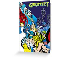 Retro - Arcade Gauntlet (1985) Greeting Card