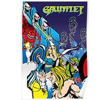 Retro - Arcade Gauntlet (1985) Poster