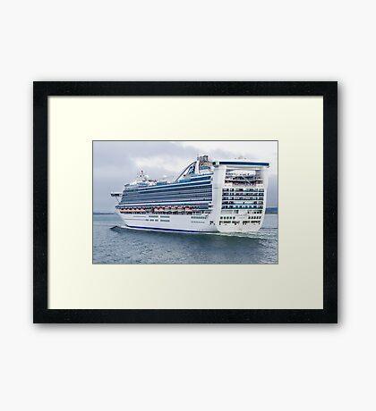 Caribbean Princess Framed Print