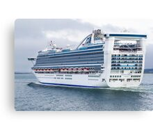 Caribbean Princess Canvas Print