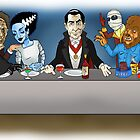 Monsters Last Supper  by DanDav