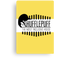 Hufflepuff - The Most Inclusive House Canvas Print