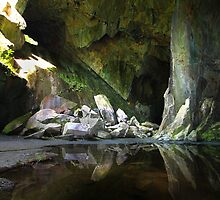 Cathedral Cavern Little Langdale  by Mark Haynes Photography