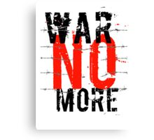 War no more 2 Canvas Print