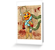 Hail to the Queen Baby! Greeting Card