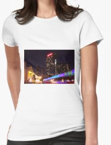 Hotel Jet Womens Fitted T-Shirt