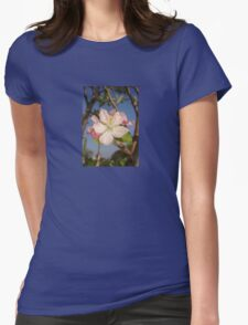 Apple Blossom Womens Fitted T-Shirt