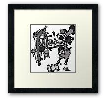 Steamboat Willie Framed Print