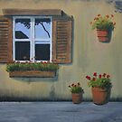 Tuscan Window by LisaMarina