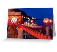 Amalfi Evening Greeting Card