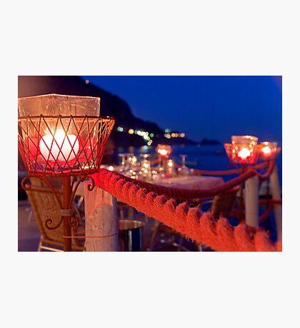 Amalfi Evening Photographic Print