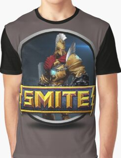 Smite Ares Logo Graphic T-Shirt