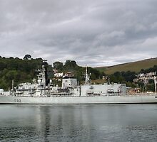HMS Somerset by Chris Day