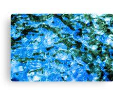 Praiano Blue Canvas Print