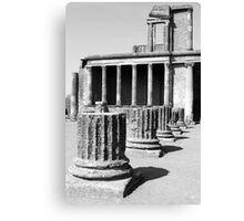 Yesterday Pompeii Canvas Print