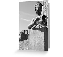 The Lost Of Pompeii Greeting Card
