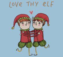 Love Thy Elf One Piece - Short Sleeve