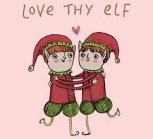 Love Thy Elf One Piece - Long Sleeve