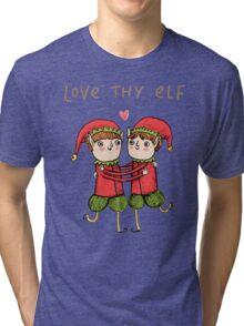 Love Thy Elf Tri-blend T-Shirt