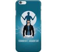Terminator 2 / Hasta la vista baby! iPhone Case/Skin