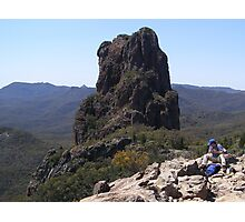The Top of 'The High Tops' Warrumbungle Nat. Park, N.S.W. Photographic Print