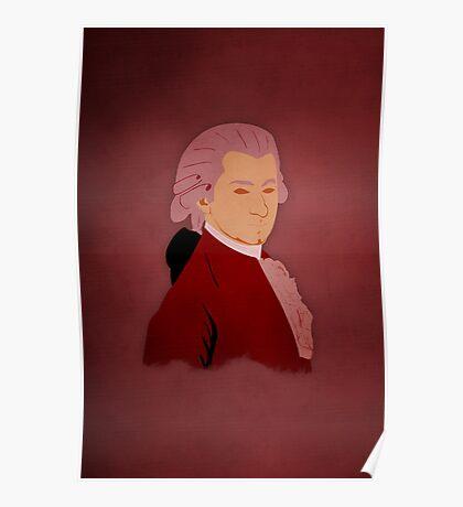 Decomposing - Mozart Poster