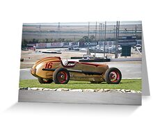 1937 Packard Custom Indy Converstion I Greeting Card
