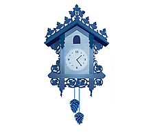 Cuckoo Clock Photographic Print