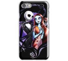 skeleton love and romance iPhone Case/Skin
