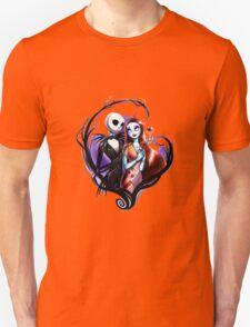 skeleton love and romance Unisex T-Shirt