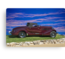 1936 Auburn 'Boat Tail' Speedster I Canvas Print