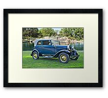 1931 Ford Model A - 400 Convertible Sedan III Framed Print