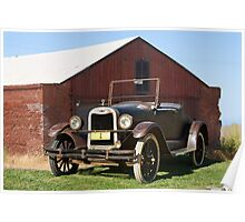 1925 Chevrolet Series K Roadster Poster
