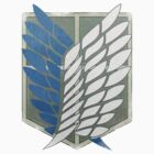 Scouting Legion Crest (Battle Worn) Realistic. by Studio Rōnin