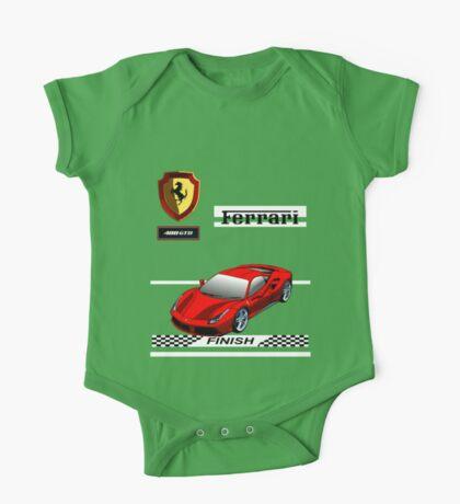 Ferrari 488 GTB I One Piece - Short Sleeve