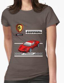 Ferrari 488 GTB I Womens Fitted T-Shirt
