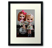 The Girls are Smitten Framed Print