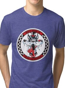 Big-Bad Cerberus  Tri-blend T-Shirt