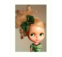 Bunny is Green with Envy Art Print