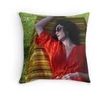 Relax - adv Throw Pillow