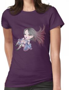 Alice Falling Womens Fitted T-Shirt
