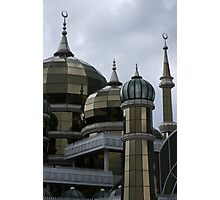 Crystal Mosque  Photographic Print