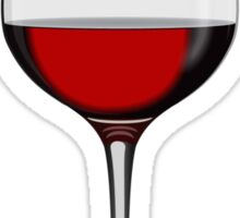 Wineglass Sticker