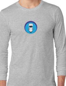 Blue Robot Long Sleeve T-Shirt