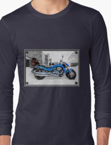 Ice Cool and Blue Long Sleeve T-Shirt