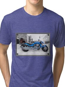 Ice Cool and Blue Tri-blend T-Shirt