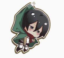 Shingeki no Kyojin Mikasa by J P