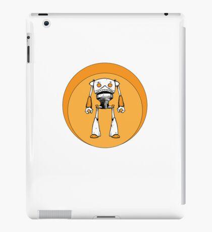 Orange Robot iPad Case/Skin