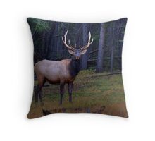 Regal Elk Throw Pillow